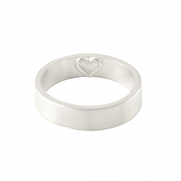 Imprint Heart Ring
