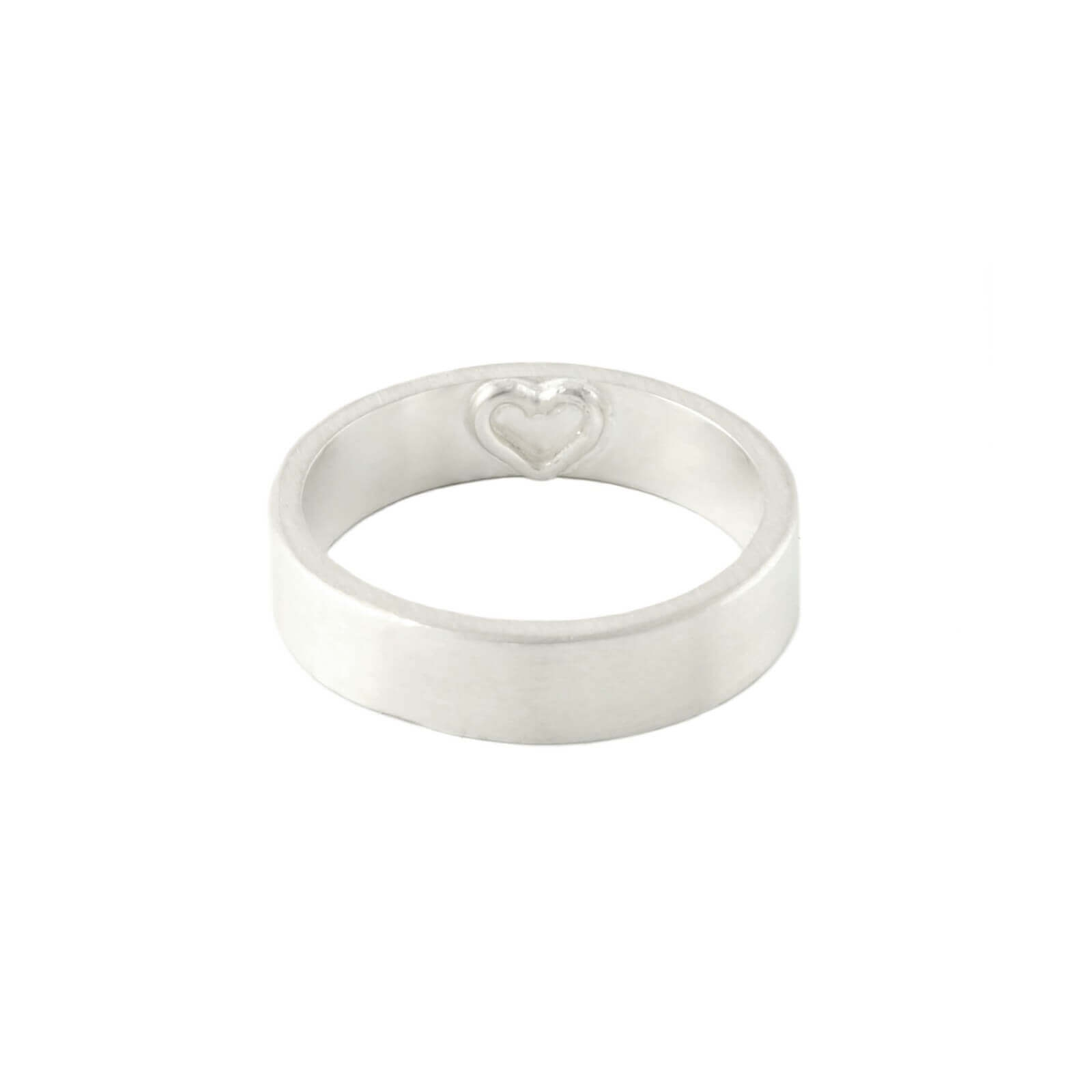 Imprint Heart Ring