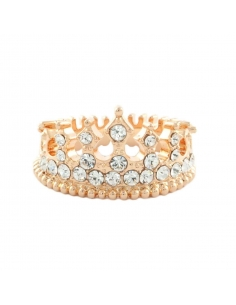 Bejeweled Crown Ring