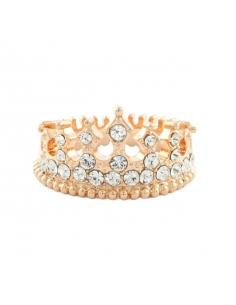 Bejeweled Kroon Ring
