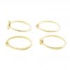 Gold Dainty Ring Set