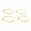 Goud Sierlijke Ring Set
