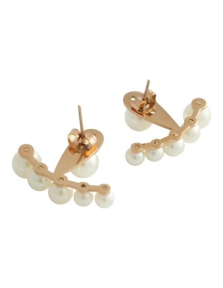 Pearls Ear Jackets