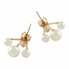 Crystal Pearl Ear Jackets