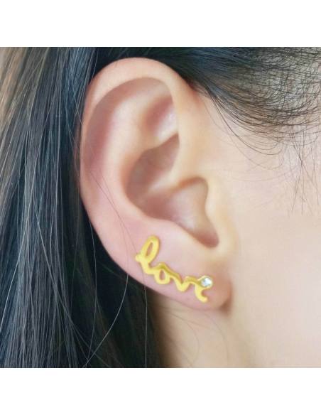 Love Ear Pins