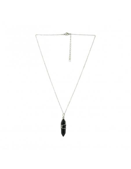Quartz Stone Pendant Necklace
