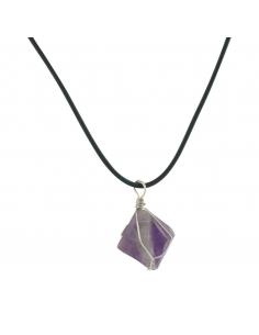 Fluorite Stone Necklace