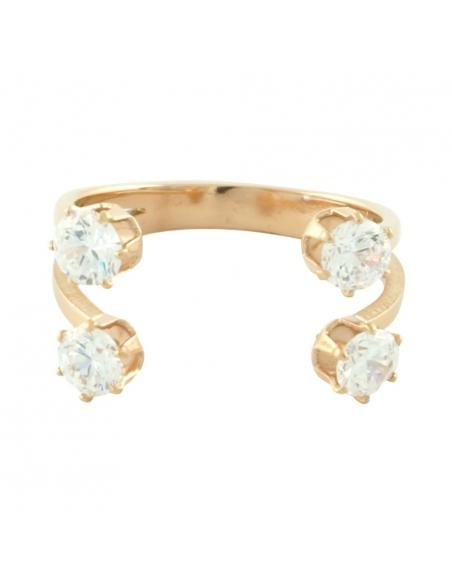 Kristallen Klauw Ring