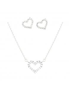 Open Heart Jewel Set