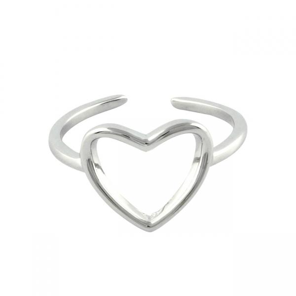 Frame Heart Ring