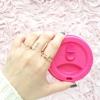 Parel Kristallen Cuff Ring