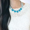 Boho Stones Statement Necklace