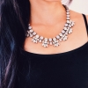 Crystal Bella Statement Necklace