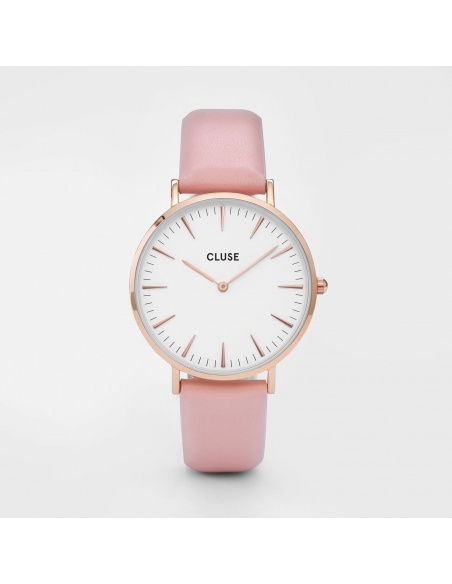 CLUSE Watch La Bohème Rose Gold White Pink