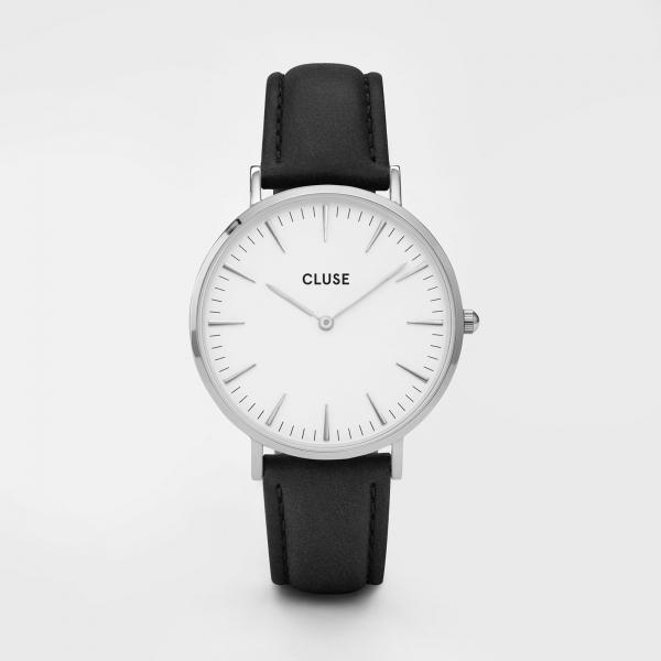 CLUSE Watch La Bohème Silver White Black