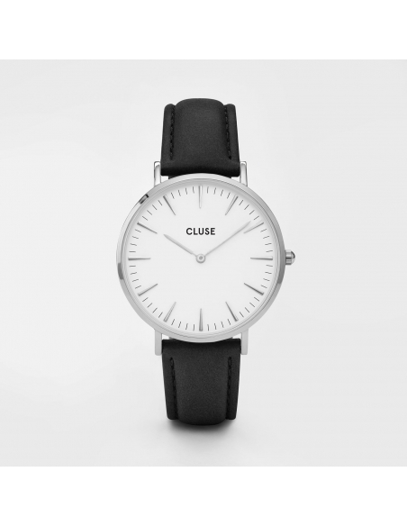 CLUSE Watch La Bohème Silver White Black
