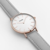 CLUSE Watch La Bohème Rose Gold White Grey