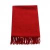 Rode Wollen Sjaal