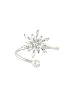 Snowflake Wrap Ring