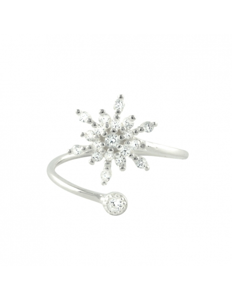 Snowflake Wrap Ring