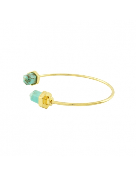 Turquoise Marble Cuff