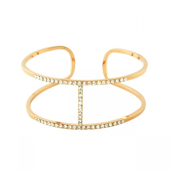 Effenen H Armband - Roze Goud