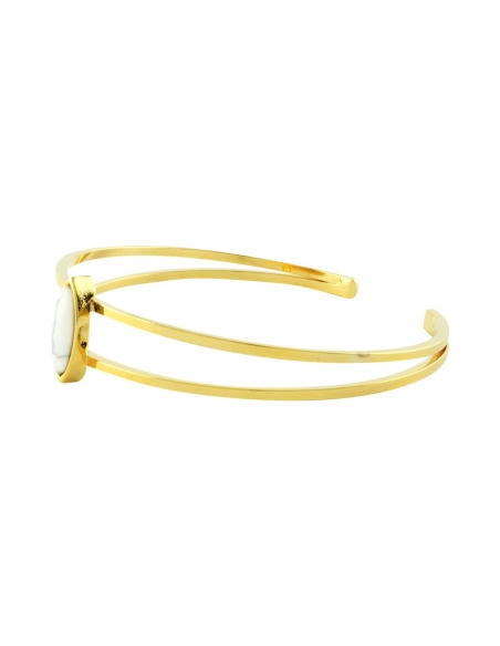 Marmere Dubbele Staaf Armband