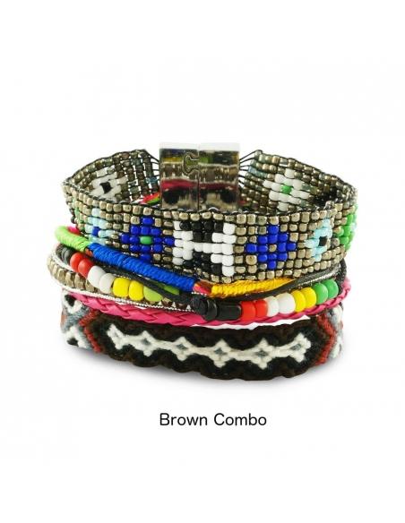 Layered Wrap Bracelet