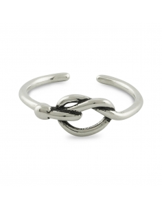 Sterling Silver Twisted Knot Ring