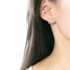 925 Sterling Silver Pearl Ear Cuff