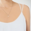 Rose Gold Small Coin Necklace