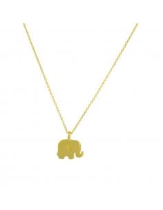Dainty Baby Elephant Necklace