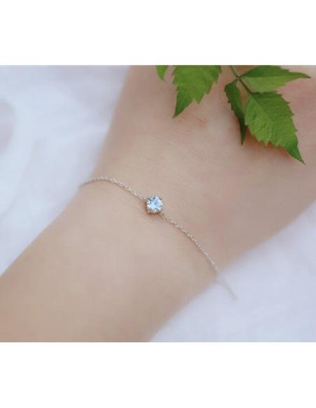 Solitaire Kristallen Armband