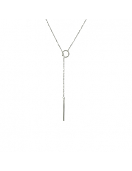 Pull-through Y-necklace