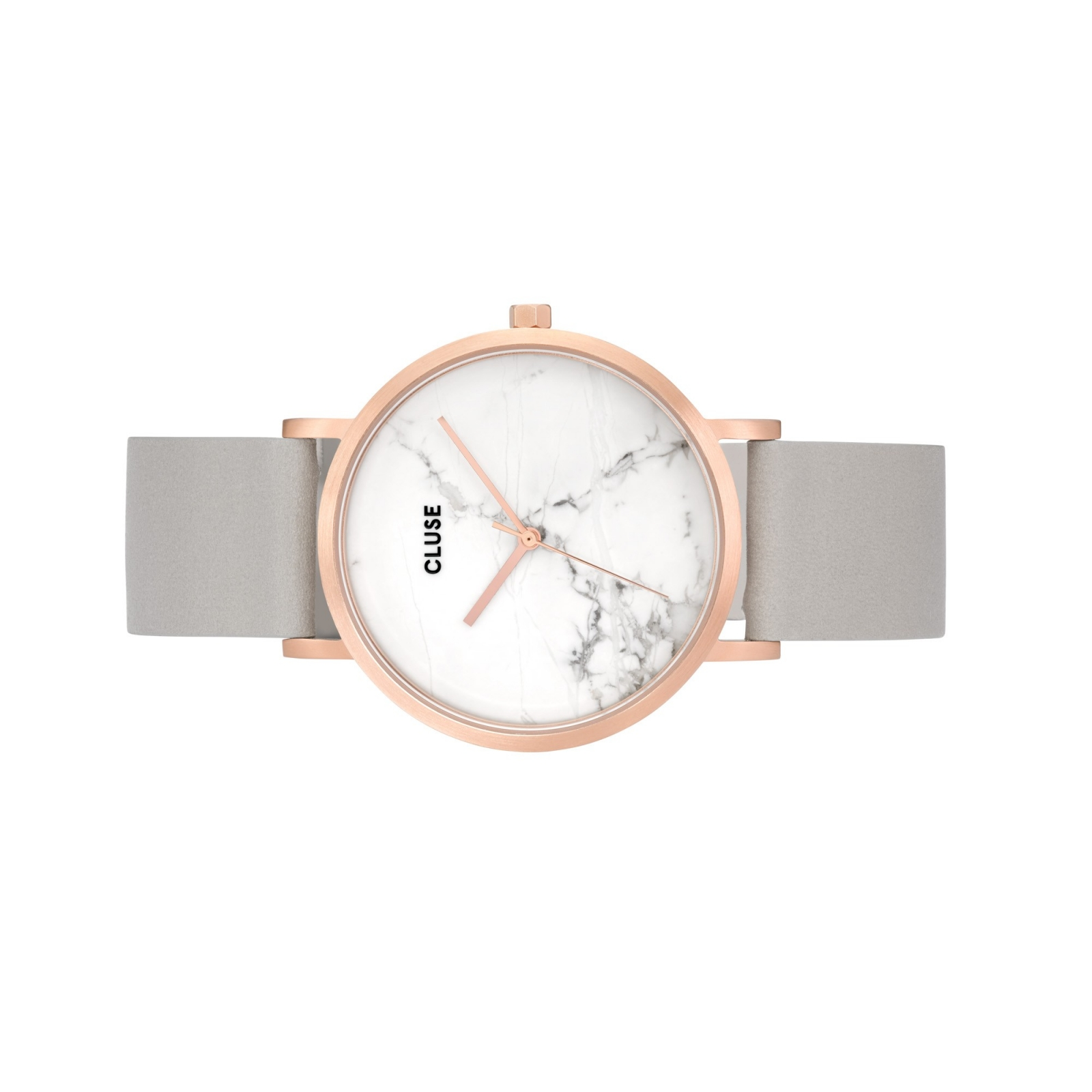 Cluse Watches La Roche Rose Gold White Marble Grey
