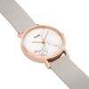 CLUSE Horloge La Roche Roze Goud Witte Marmer Grijs