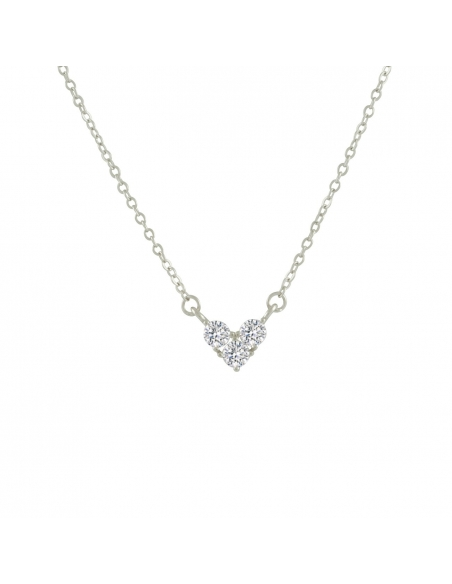 Twinkling Heart Necklace