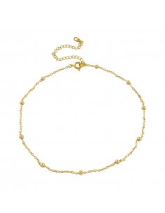 Gold Mini Beads Necklace