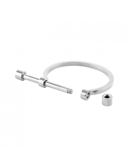 Zilveren Stoere staaf armband