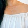 Dainty Open Heart Necklace