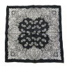 Silk Bandana-Black