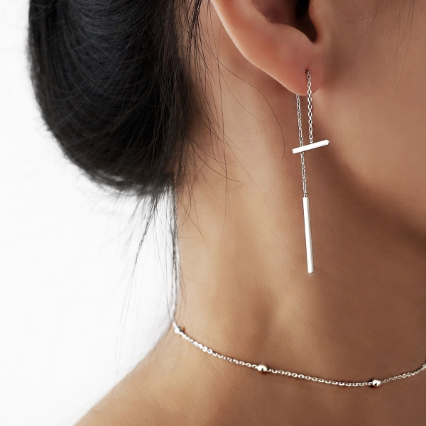 Threader-look Earrings