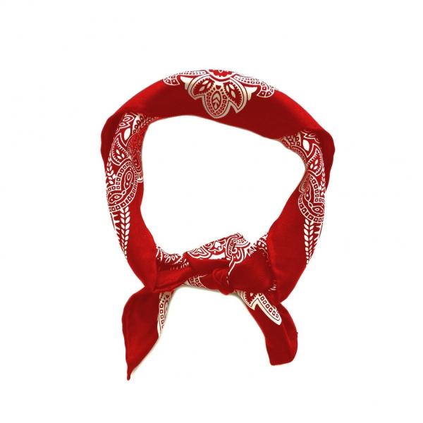 Zijden Bandana-Rode