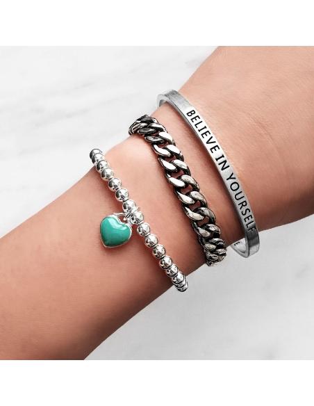 Kettingschakel armband