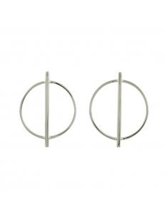 Cirkel Staaf oorbellen