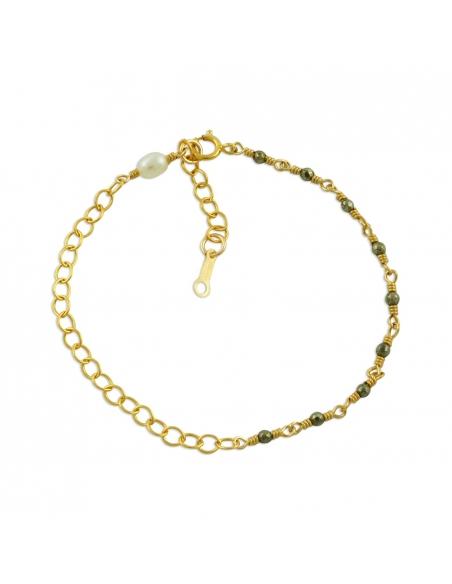 Ore Beaded Chain Bracelet