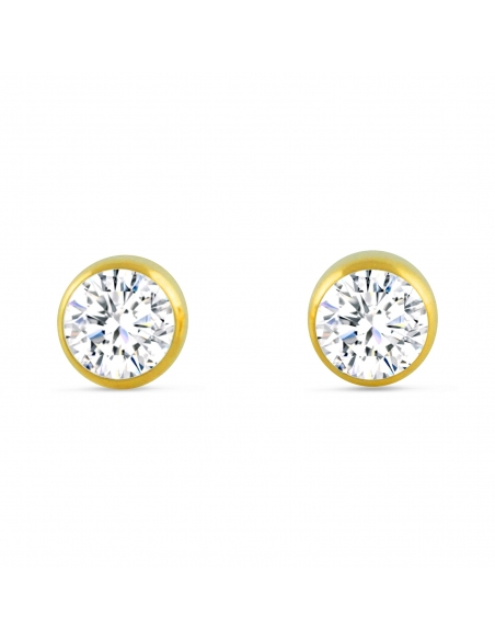 Crystal Diamond Studs