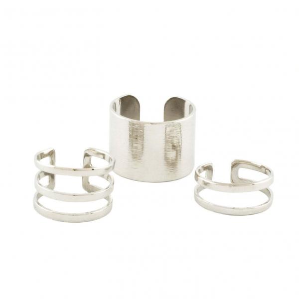 Trio Bold Ring Set