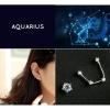 Zodiac Stud Earring Set - Aquarius