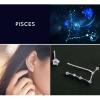 Zodiac Stud Earring Set - Pisces